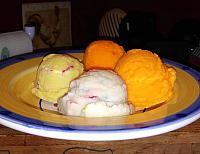 Ice Cream Scoop -Vanilla Ice Cream Sugar cookie dough